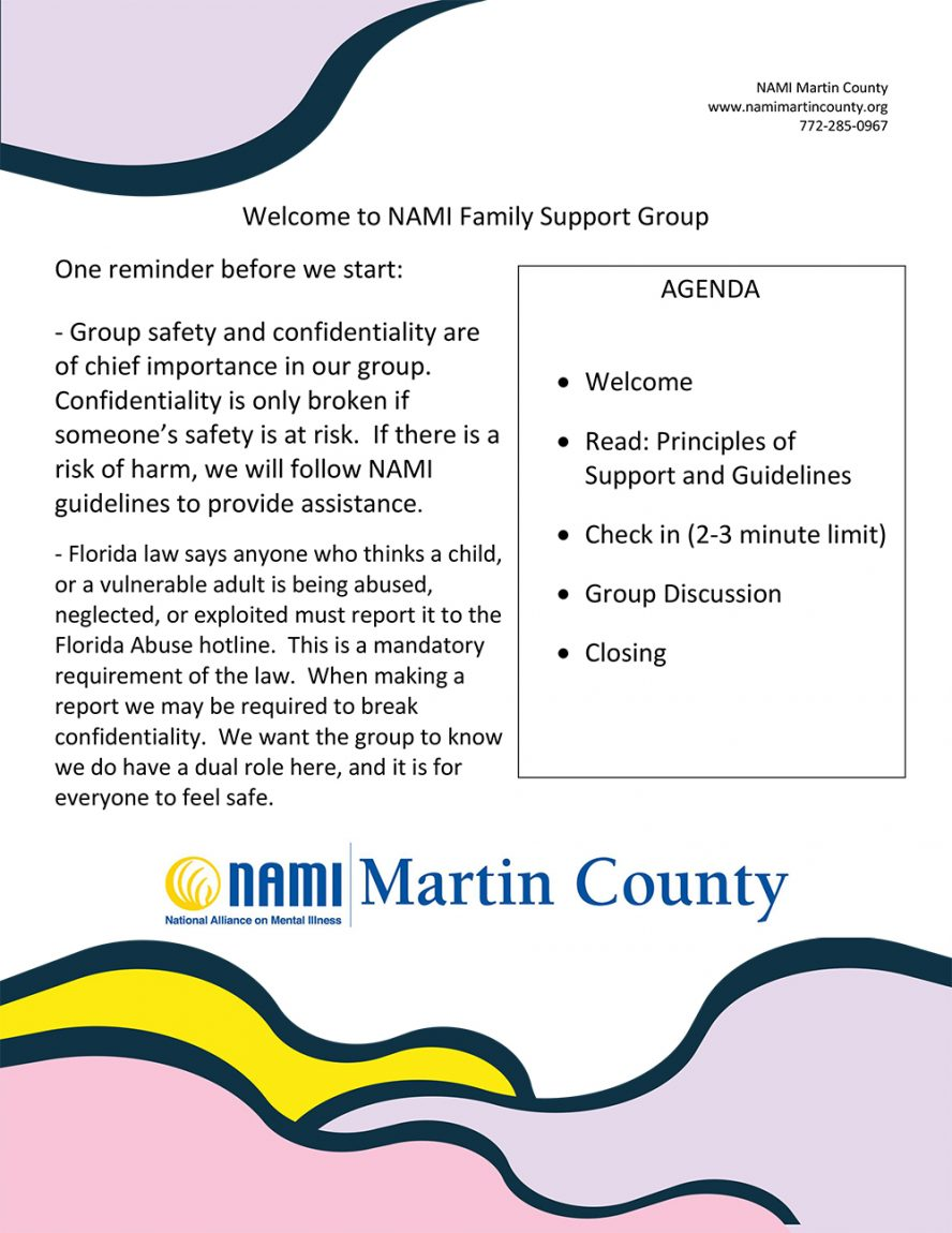 NMCI Meetings Safety Confidentiality Agenda